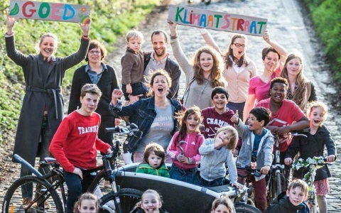 Warme ideeën voor het klimaat, uit een dorp van bij ons